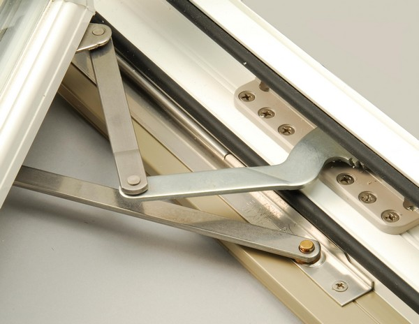Steel Operating Arms Mounted with Six Screws for Added Security